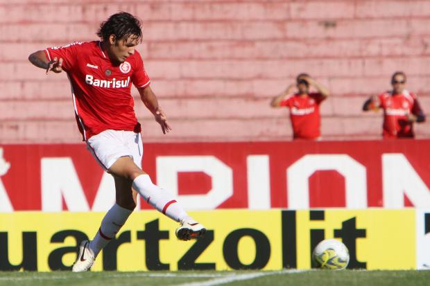 Ricardo Goulart, meia do Inter B - Crédito: Crédito: Lucas Uebel/VIPCOMM