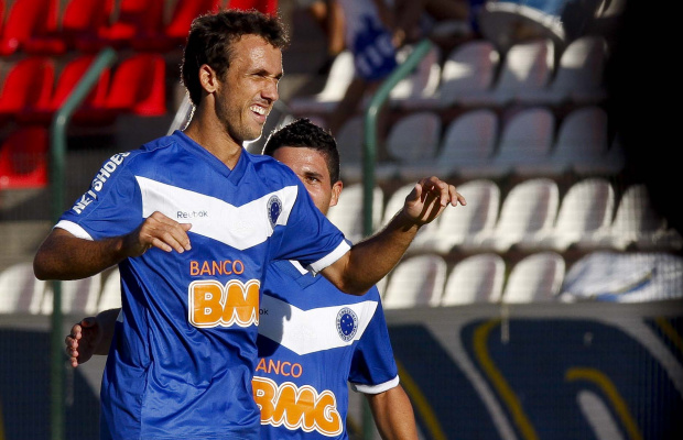 Thiago Ribeiro, atacante do Cruzeiro - Crédito: Crédito: Washington Alves/VIPCOMM