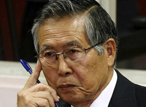 O ex-presidente Alberto Fujimori - Crédito: Foto: AFP