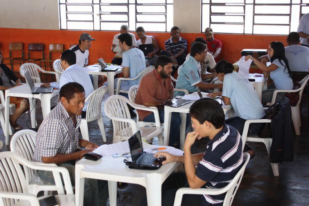 Sebrae atende empreendores em fazer a declaração - Crédito: Foto : Sebrae/MS