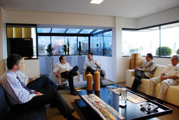 A instalação de uma base de operação do INT foi discutida na Casa da Indústria - Crédito: Foto : Divulgação