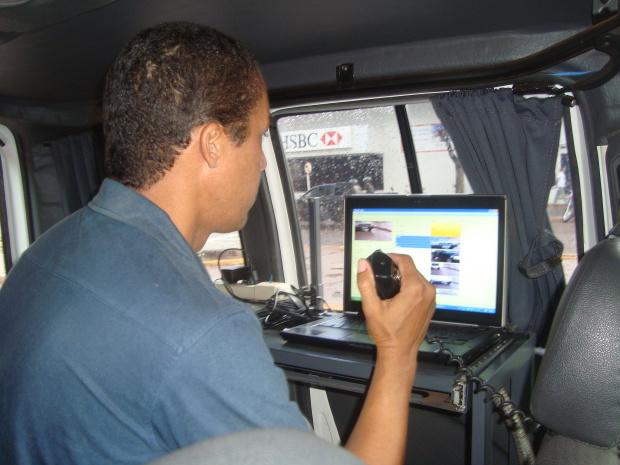 Blitz tem objetivo de prevenir acidentes no trânsito de Dourados - Crédito: Foto: Cido Costa