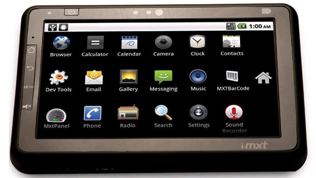 Tablet nacional roda o sistema Android 2.2. e tem tela sensível ao toque de 7 polegadas - Crédito: Foto: Divulgação