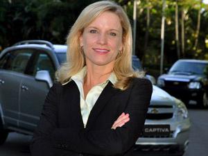 Denise Johnson assumiu a presidência da GM do Brasil em julho passado - Crédito: Foto: Divulgação