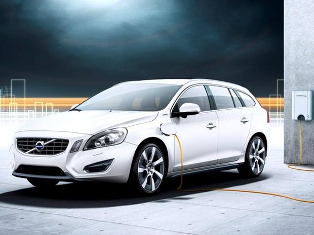 Volvo V60 só será comercializado em 2012 - Crédito: Foto: Divulgação