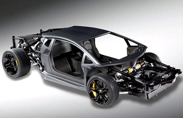 Lamborghini conta com suspensão no estilo da F1 - Crédito: Foto: Divulgação
