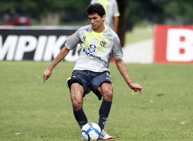 Ronaldo Angelim, zagueiro do Flamengo - Crédito: Crédito: Márcia Feitosa/VIPCOMM