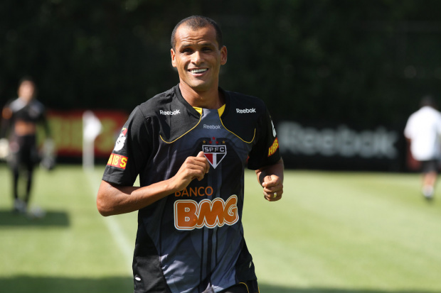 Rivaldo, meia do São Paulo - Crédito: Crédito: Luiz Pires/VIPCOMM