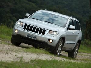 Grand Jeep Cherokee - Crédito: Foto: Divulgação