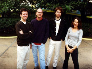 A banda de indie rock Superchunk - Crédito: Foto: Divulgação