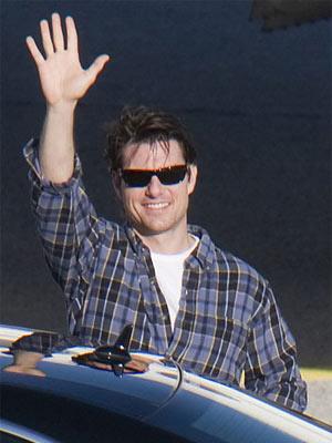 O ator Tom Cruise - Crédito: Foto: AP