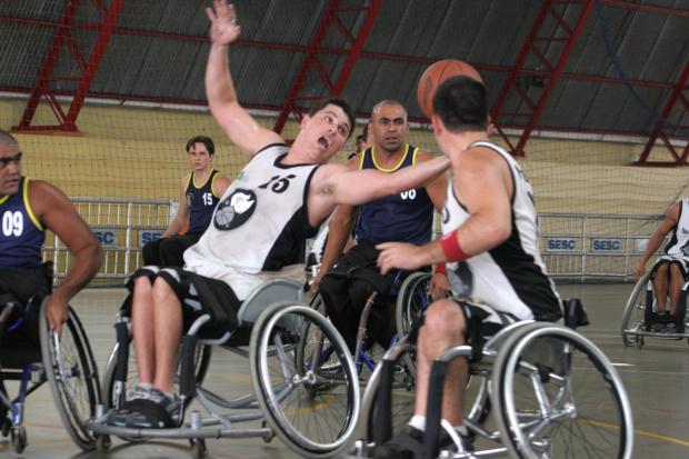 Basquete sobre cadeiras de rodas em Dourados teve uma renovação no elenco de 40% - Crédito: Foto : Divulgação