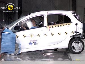 Mitsubishi i-MiEV conquistou quatro estrelas  - Crédito: Foto: Divulgação