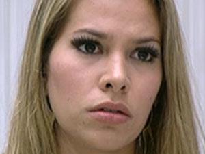 Adriana recebeu 45% dos votos.  - Crédito: Foto: Reprodução / TV Globo