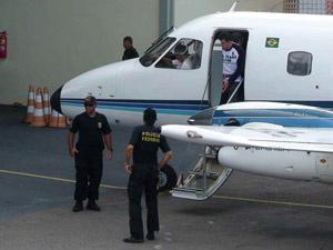 Colombiano Nestor Ramon Caro-Chaparro é extraditado para os Estados Unidos - Crédito: Foto: Divulgação/Polícia Federal