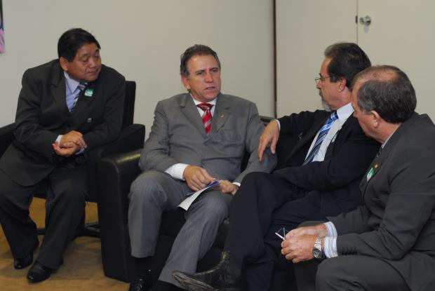 Giroto durante encontro com líderes dos CREAS em Brasília - Crédito: Foto : Divulgação