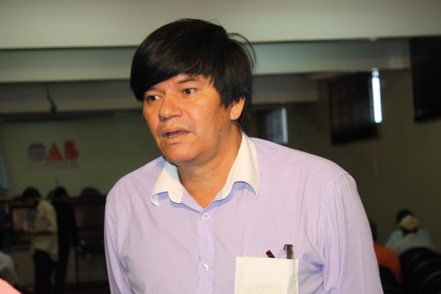 Wilson Matos é o coordenador do Observatório Indígena de Dourados - Crédito: Foto: Hedio Fazan/PROGRESSO
