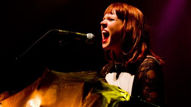 Cantora inglesa se apresentou para um público de 2 mil pessoas em SP - Crédito: Foto: Daigo Oliva/G1
