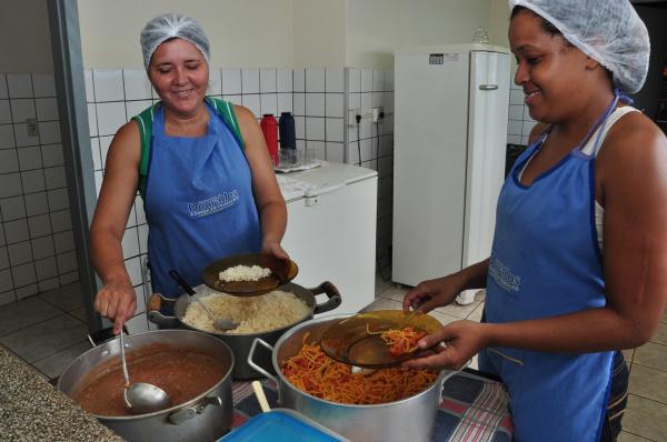 Educação convoca profissionais aprovados em concurso para atuar na cozinha de Ceims.   Foto: A. Frota -