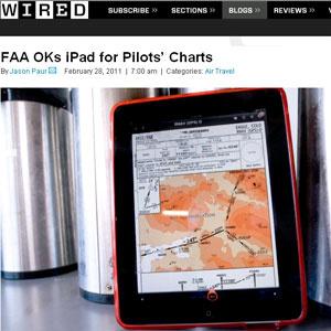 Mapas antes feitos em papel poderão ser consultados pelo iPad - Crédito: Foto: Reprodução/Wired
