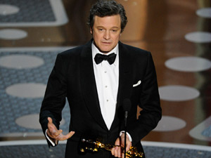 Colin Firth vence o Oscar - Crédito: Foto: Mark J. Terrill/AP