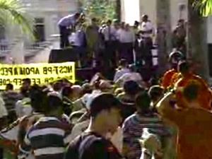 Greve foi decidida em assembleia na segunda-feira  - Crédito: Foto: Reprodução/TV Cabo Branco