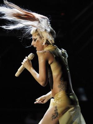 A cantora Lady Gaga. - Crédito: Foto: Reuters