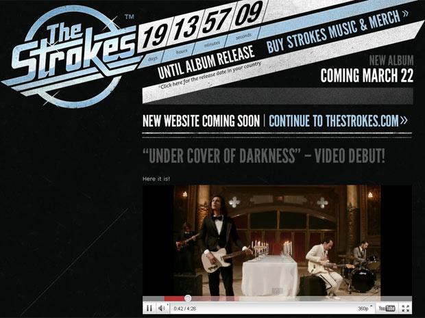 Trecho do novo clipe do Strokes - Crédito: Foto: Reprodução/thestrokes.com