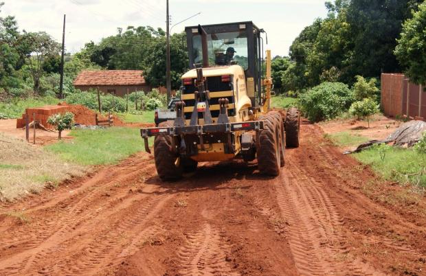 Ruas se encontravam em péssimo estado de conservação - Crédito: Foto : Demerval Nogueira