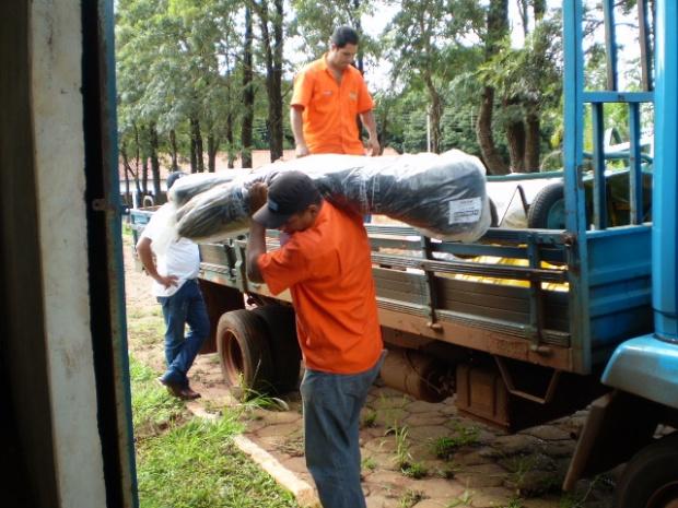 Materiais e equipamentos adquiridos com recursos do Projeto - Crédito: Fotos: Imprensa/Imad
