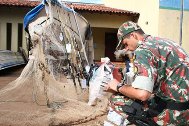 PMA apresenta dados positivos da Operação Piracema - Crédito: Foto:Edemir Rodrigues