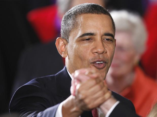 O presidente dos EUA, Barack Obama, durante solenidade na Casa Branca nesta quarta-feira - Crédito: Foto: Reuters