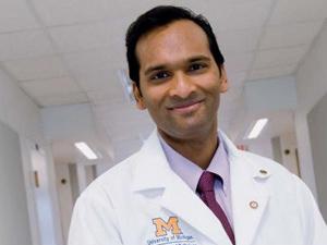 Arul Channaiyan, autor da pesquisa  - Crédito: Foto: University of Michigan Health System