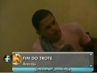 Preso suspeito de passar 200 mil trotes para central em Sergipe - Crédito: Foto :Divugação/Jornalhoje