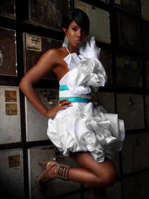 A cantora Kelly Rowland - Crédito: Foto: Divulgação