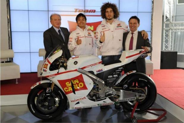 Equipe San Carlo Gresini lança novo modelo para a disputa da MotoGP -
