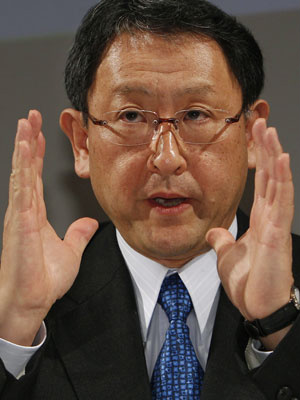 Akyo Toyoda, presidente da Toyota - Crédito: Foto: AP