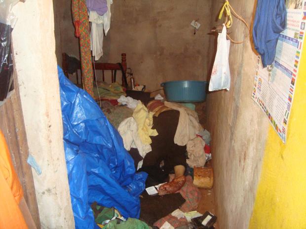 Idoso indígena foi morto com 25 golpes de facão na Aldeia Jaguapiru de Dourados - Crédito: Foto: Cido Costa