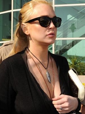 Lindsay Lohan - Crédito: Foto: AFP