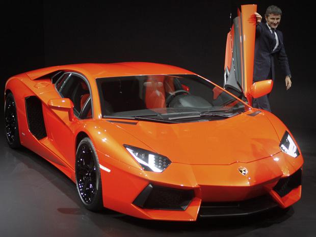 Lamborghini Aventador - Crédito: Foto: AP