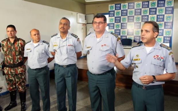 Comando da PM divulgou o balanço ontem durante coletiva - Crédito: Foto: Divulgação