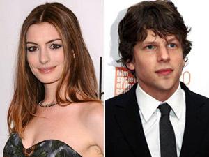 Anne Hathaway e Jesse Eisenberg dublaram os protagonistas da animação \'Rio\' - Crédito: Foto: Reuters
