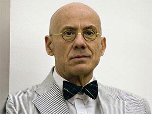 O escritor americano James Ellroy  - Crédito: Foto: Wikimedia/Tripsspace
