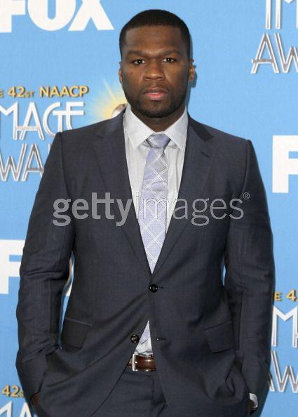 O ator / rapper Curtis Jackson \'50Cent \'atende a 42 NAACP Image Awards Anúncio Nomeação E Conferência de Imprensa em 12 de janeiro de 2011, em Beverly Hills, Califórnia. - Crédito: Foto: Valerie Macon / Getty Images