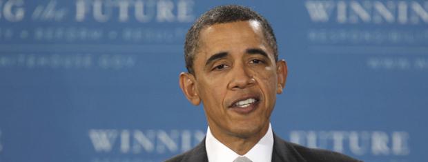 O presidente dos EUA, Barack Obama, fala sobre educação em escola de Arlington, na Virgínia - Crédito: Foto: AP