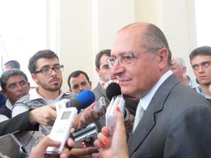 Governador afirma que 121 hospitais serão beneficiados - Crédito: Foto: Paulo Toledo Piza/G1
