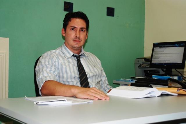 Marcelo Bonfim delegado de Polícia Civil, de Ivinhema, acompanha o caso -