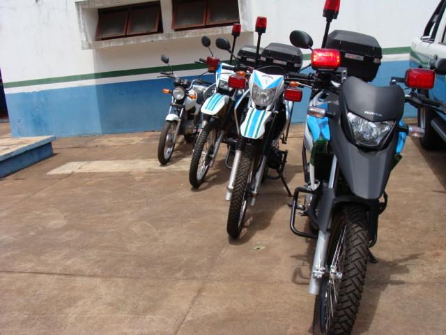 Motocicletas serão usadas em trabalhos estratégicos - Crédito: Foto: Divulgação