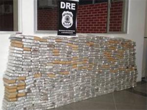 500 quilos de maconha apreendidos em Sergipe  - Crédito: Foto: Divulgação/Polícia Federal