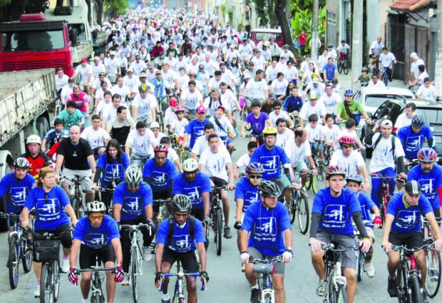 Sesi realiza no próximo dia 3 de abril um passeio ciclístico em Campo Grande - Crédito: Foto: Divulgação